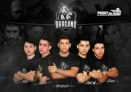 Black Dragons investe no Point Blank com grandes nomes do cenário