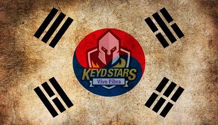 Keyd irá fazer bootcamp na Coreia do Sul