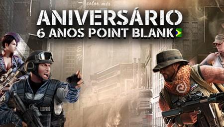 Point Blank faz aniversário na próxima semana e realiza evento especial