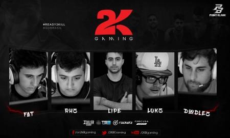 2Kill Gaming adquire line-up da Yakuz4 e-Sports e volta ao Point Blank