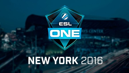 ESL One New York 2016 | COBERTURA/LIVE