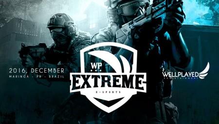WP Extreme inscrições para CS:GO e LOL. Seletivas serão online e premiação de 5 mil reais