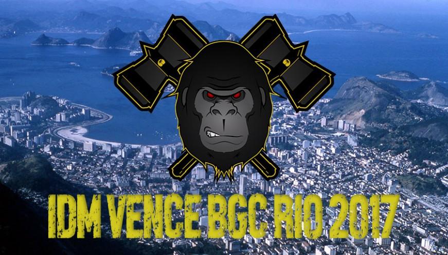 IDM vence BGC Rio 2017