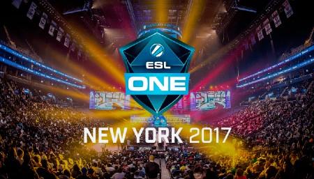 NaVi e Virtus.pro na ESL New York 2017
