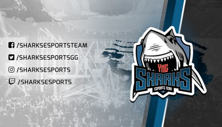 Sharks Esports é criada e poderá ter equipe brasileira