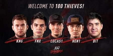 100 Thieves anuncia brasileiros